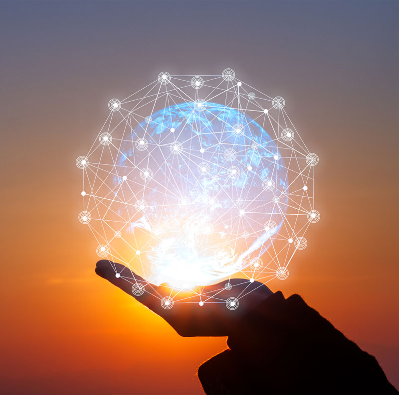 Novaparke Contact Hologram Hand